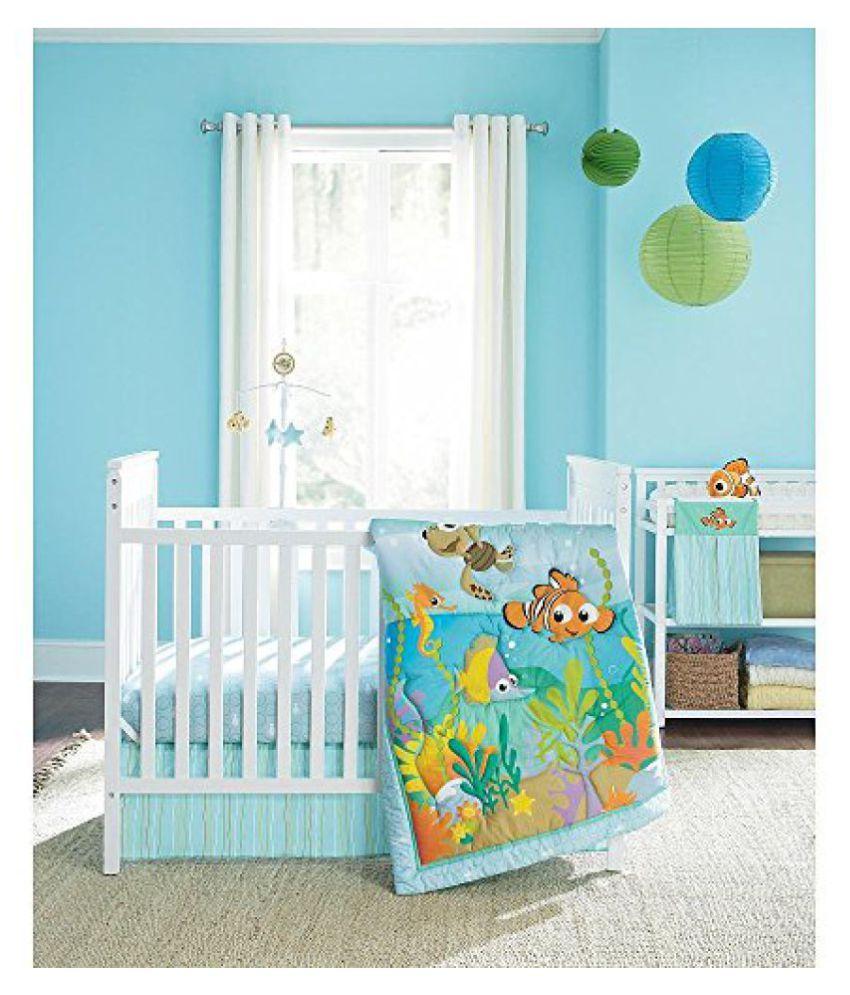 Disney Baby Finding Nemo 4 Piece Crib Bedding Set By Disney