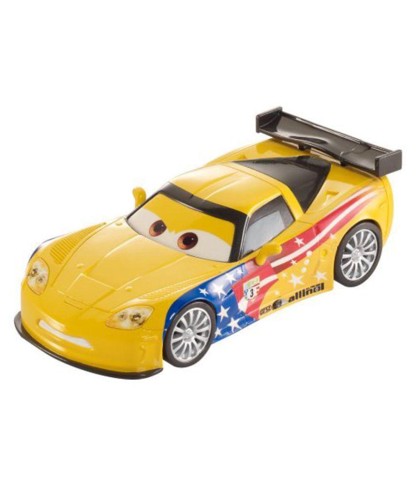 Disney/Pixar Cars Pull Backs Jeff Gorvette Vehicle