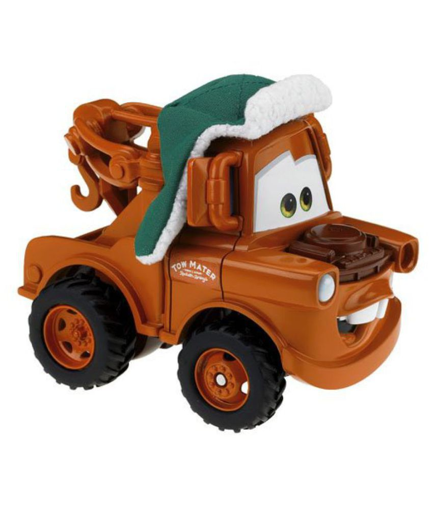 Disney Pixar Cars Shake N Go Limited Edition Mater in Winter Attire