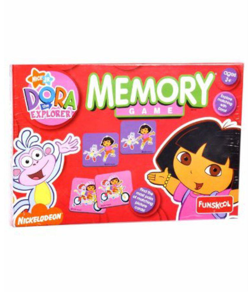 Funskool Dora Memory Game