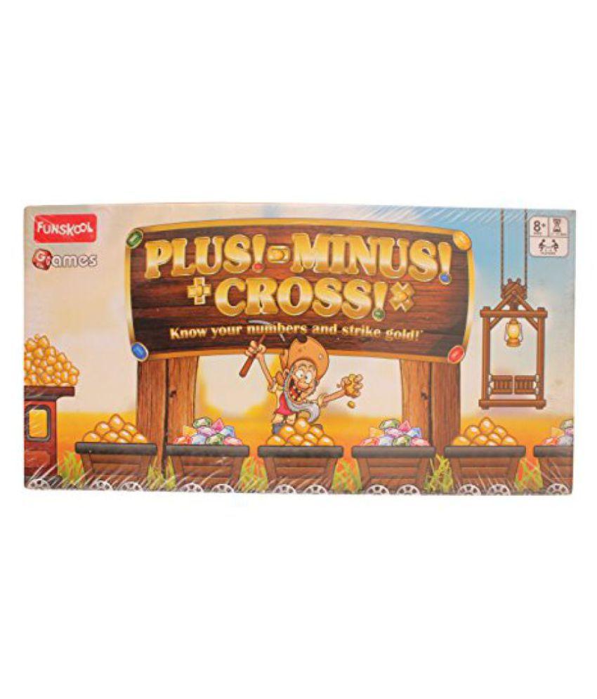 Funskool Plus-Minus Cross Game