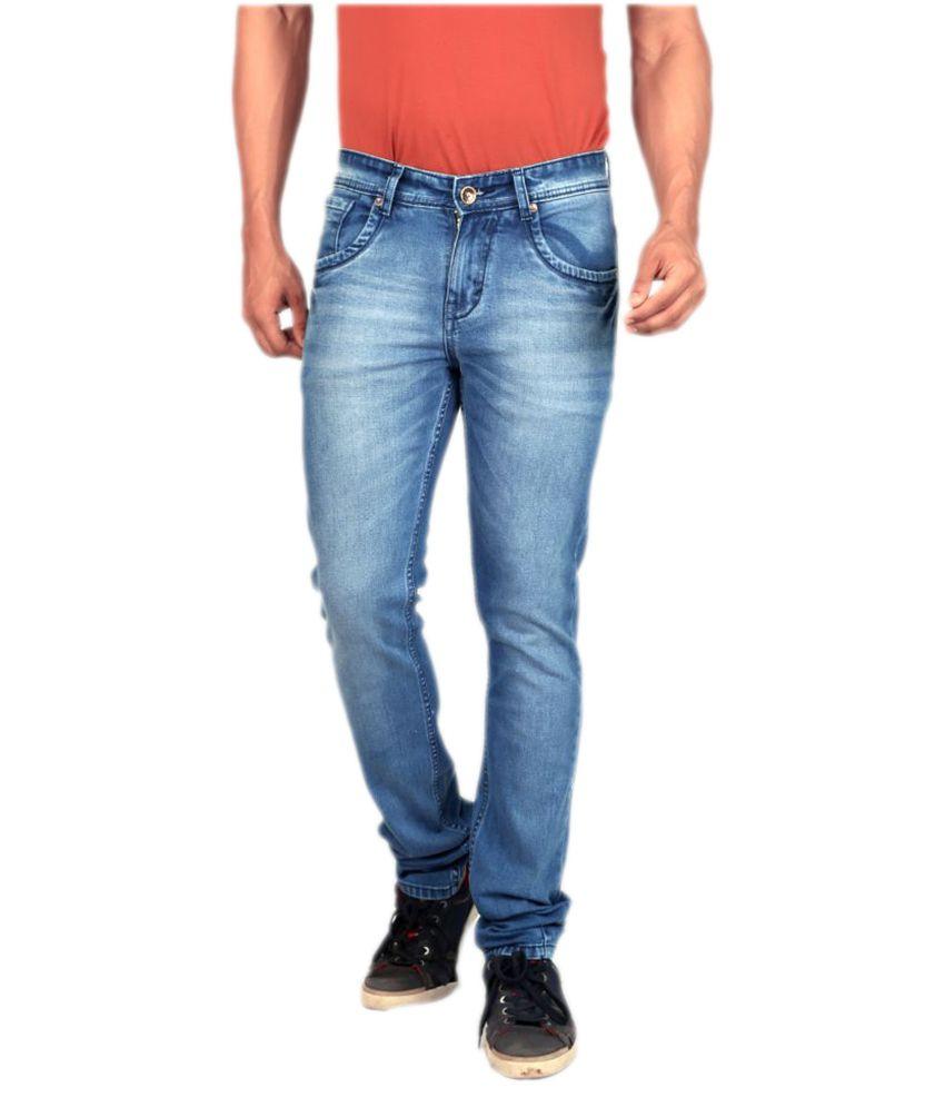 Gabon Light Blue Slim Jeans