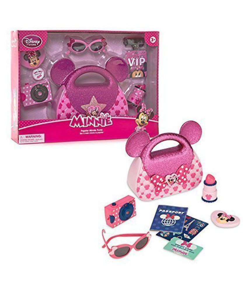 Official Disney Minnie Mouse Popstar Purse Playset by Disney