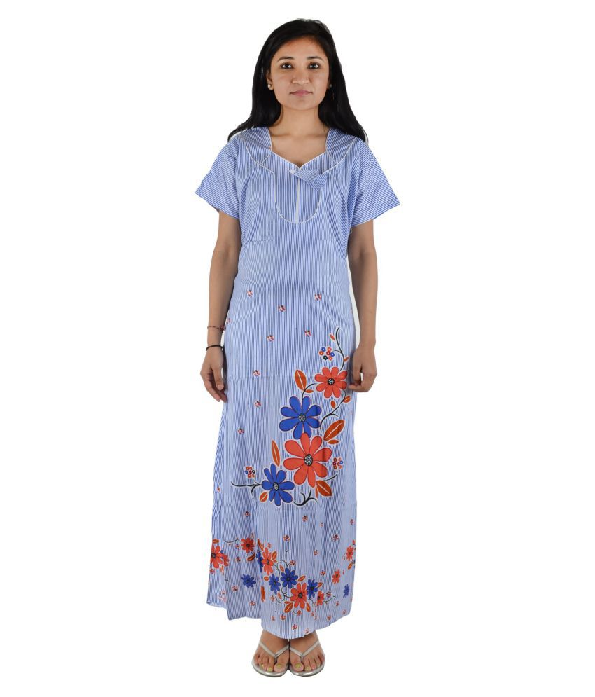 Glam Quotient Cotton Nighty & Night Gowns
