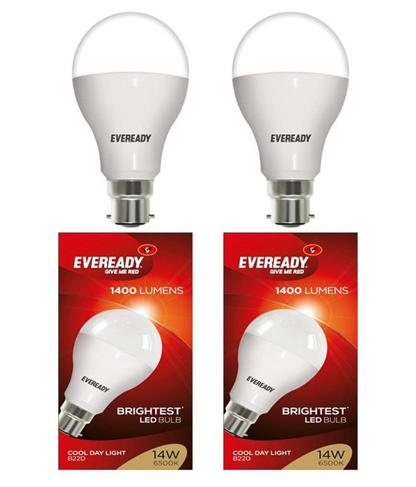 Eveready 14W Pack of 2 LED Bulb