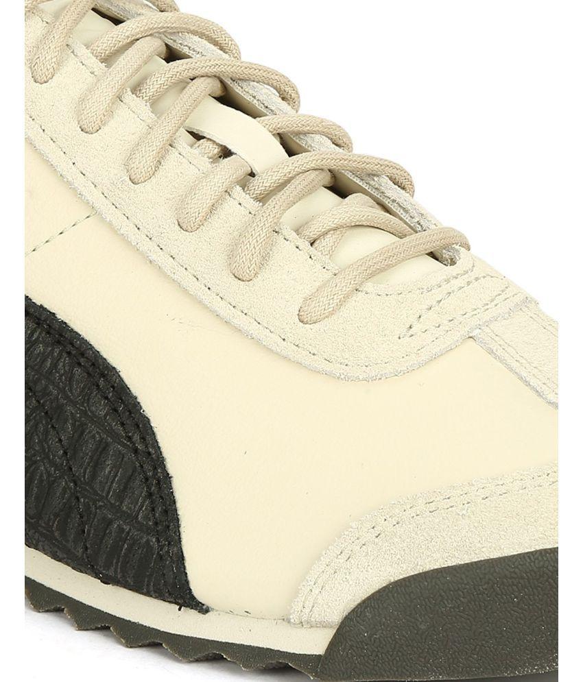 Puma Roma Og City Series Birch White Casual Shoes - Buy Puma Roma Og ... c0b289a06