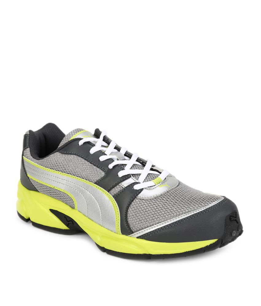 Puma Strike Fashion Iii Idp Gray Running Shoes ...
