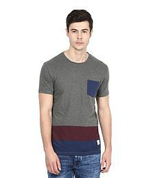 United Colors of Benetton Grey Round T-Shirt for sale  Delivered anywhere in India
