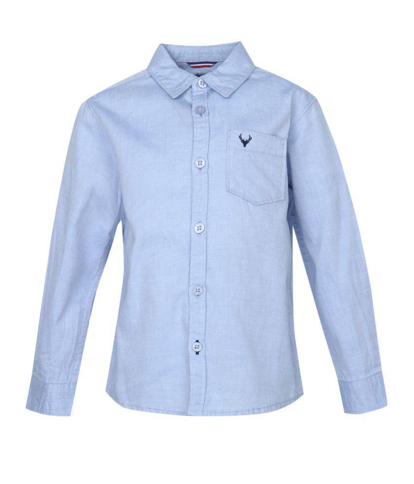 089dae5354 Allen Solly Kids Boys Shirts