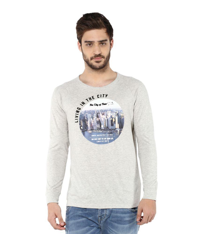 Fox Grey Round T-Shirt