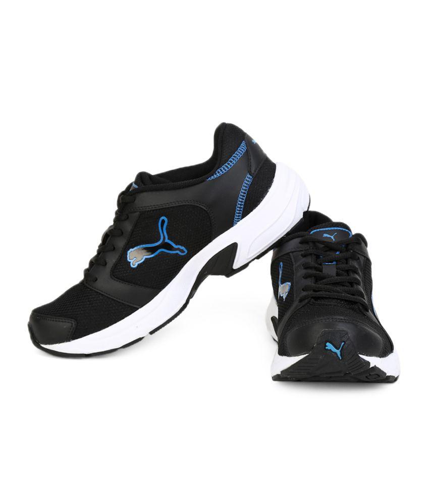 0ff4b6524a6 Puma Splendor Dp Black Running Shoes Puma Splendor Dp Black Running Shoes  ...