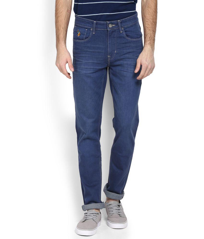 U.S. Polo Assn. Blue Slim Jeans