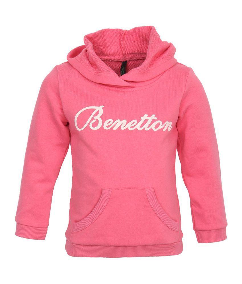 United Colors Of Benetton Pink Sweatshirts