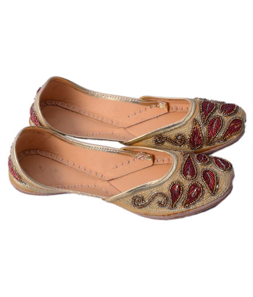 Rajotsav Multi Color Flat Ethnic Footwear