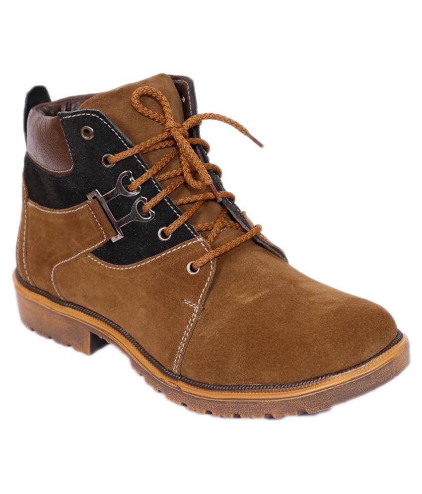 Shoe Island Bronze Casual Boot
