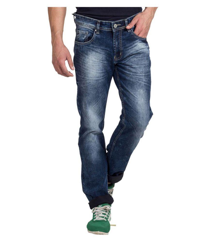 Klub Fox Blue Regular Fit Jeans