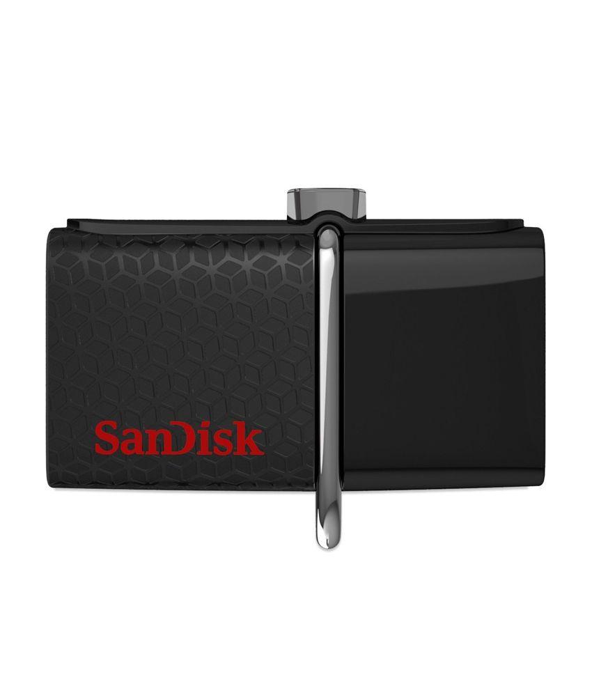 Sandisk Ultra Dual SDDD2-032G-l35 32 GB USB 3.0 OTG Pendrive Black