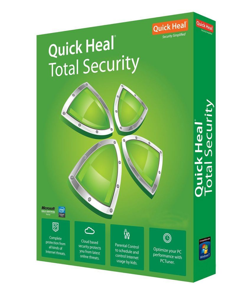 Quick Heal Total Security Latest Version ( 2 / 3 ) CD