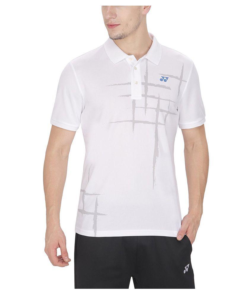 Yonex Badminton Polo T-Shirt - White
