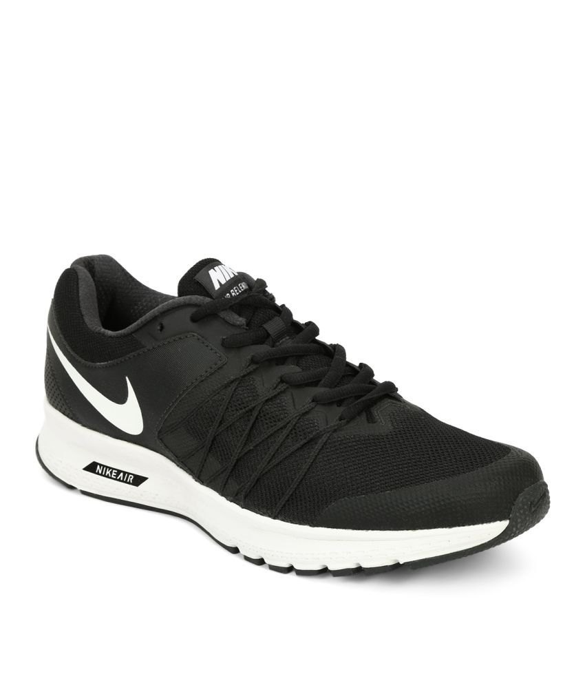 ea52e62e10644 Nike NIKE AIR RELENTLESS 6 MSL Black Running Shoes - Buy Nike NIKE AIR  RELENTLESS 6 MSL Black Running Shoes Online at Best Prices in India on  Snapdeal