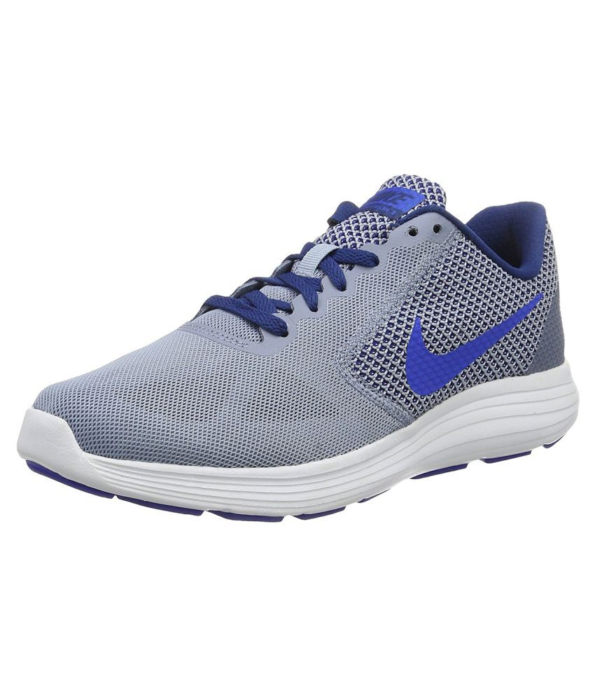Nike Revolution 3 Running Shoes Gray