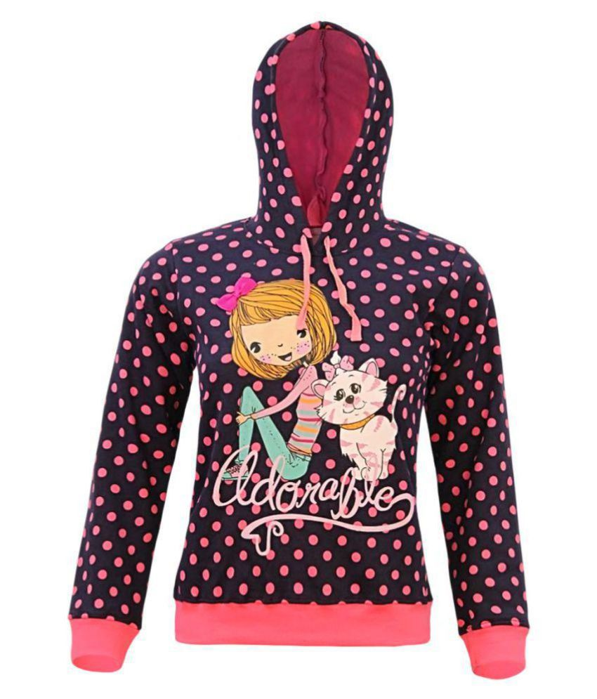 Kothari Girls Hooded Sweatshirt