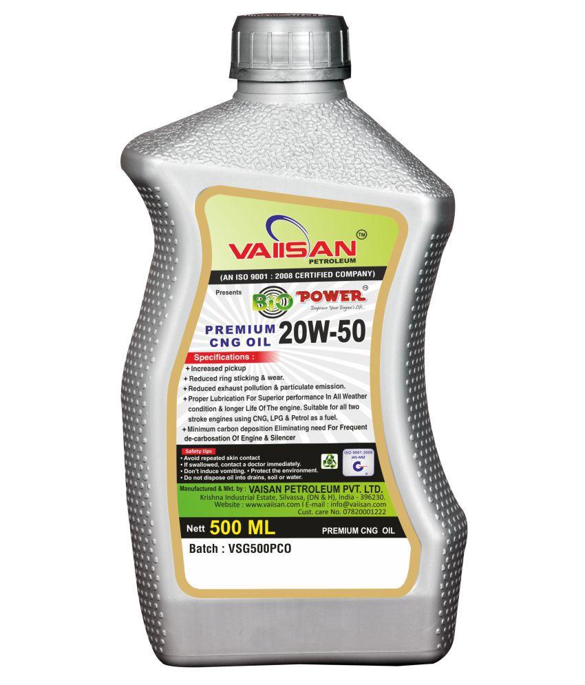 Vaiisan Bio Power Extra Premium CNG Oil 500ml : Buy Vaiisan