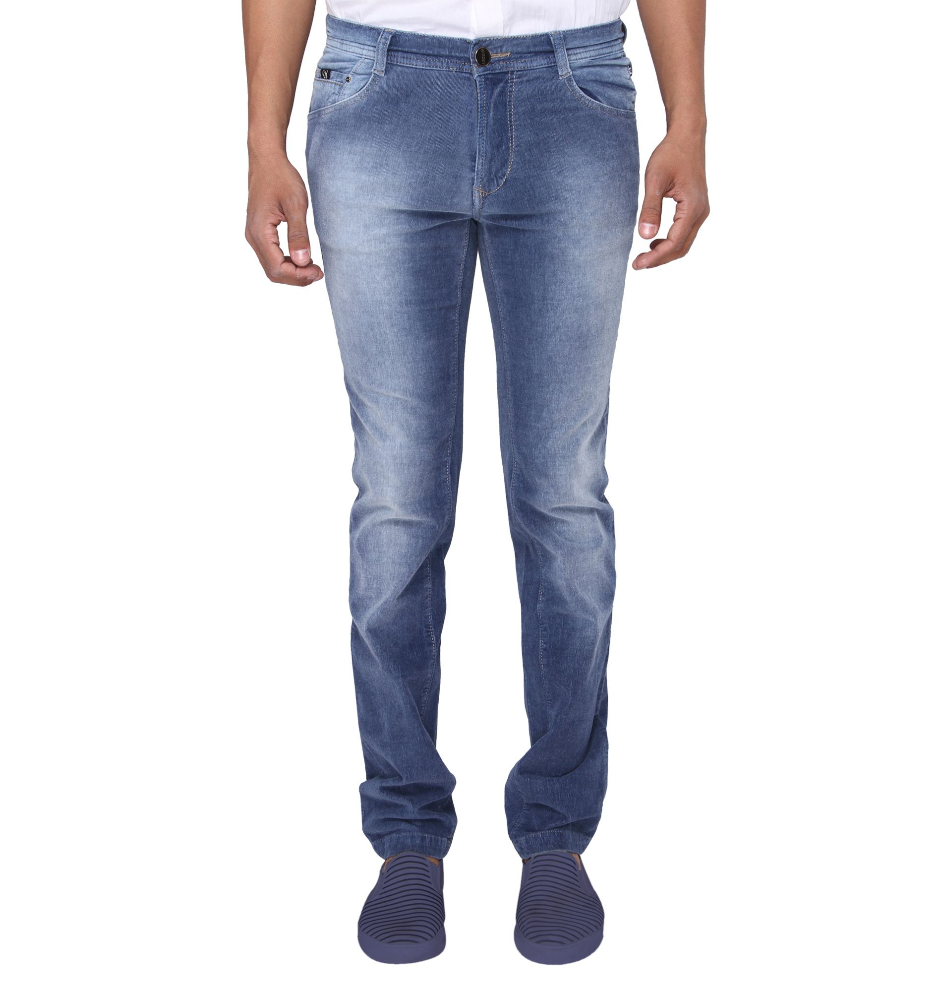 Irony Blue Regular Fit Jeans