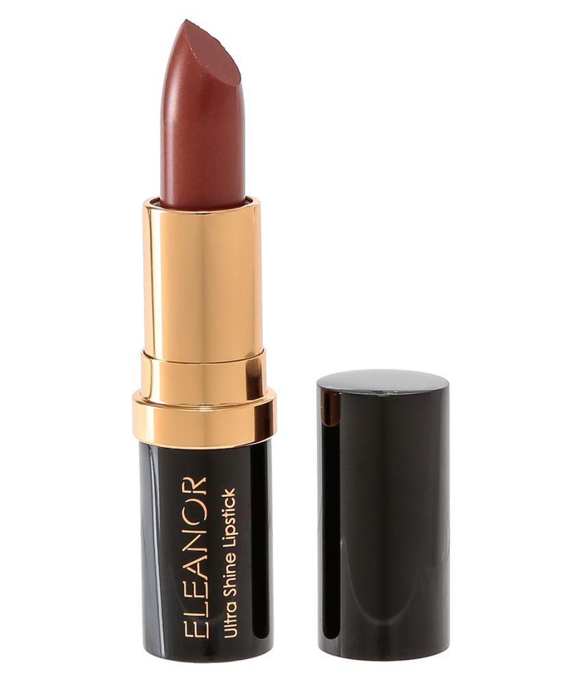 ELEANOR Ultra Shine Lipstick Lipstick L05 Raisin 3.4 gm