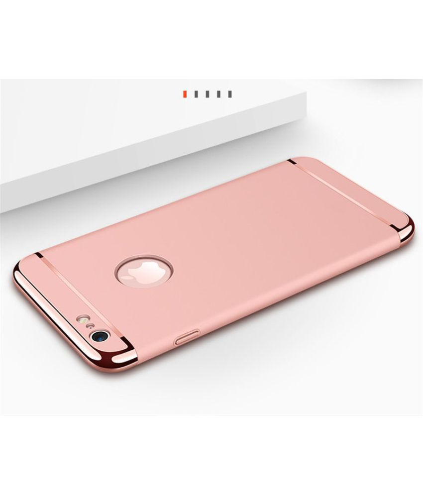Apple Iphone 6s Bumper Cases Bigzook Rose Gold Plain Back Covers