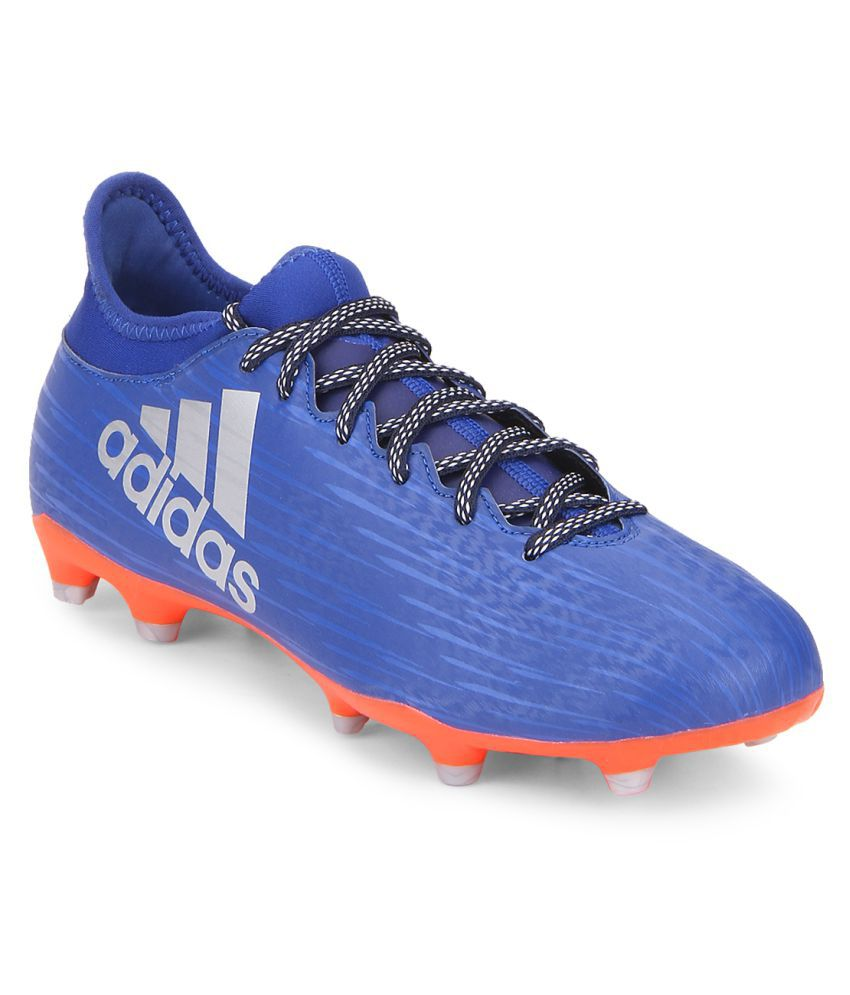 7766bb754b35 Adidas X 16.3 FG Blue Football Shoes - Buy Adidas X 16.3 FG Blue Football  Shoes Online at Best Prices in India on Snapdeal