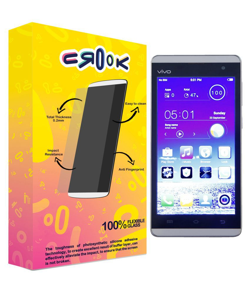 Vivo Y28 Tempered Glass Screen Guard By Crook