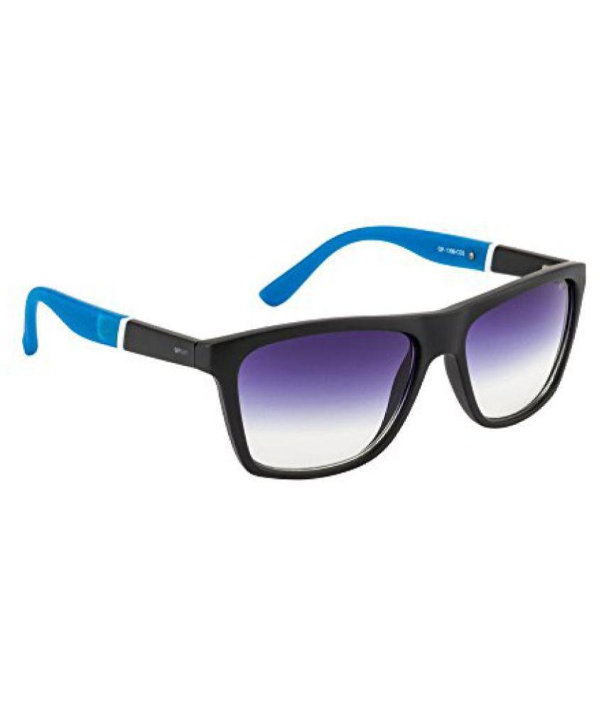 Opium Gradient Wayfarer Mens Sunglasses (OP-1399-C03|56|Blue lens)