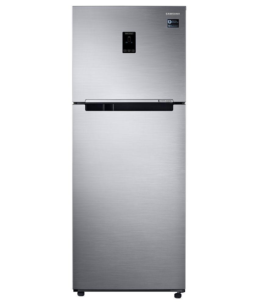 Samsung 362 Ltrs RT39K5518S8/TL Frost Free Double Door Refrigerator Elegant Inox