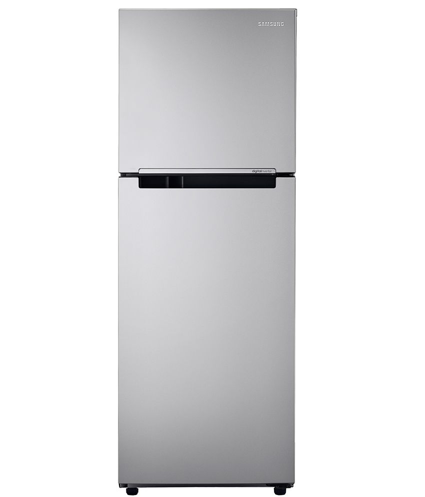 Samsung 253 Ltr 2 Star RT28K3022SE/HL Double Door Refrigerator [with Digital Inverter] - Elective Silver