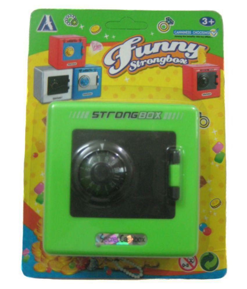 Prime line secret cash box coin bank green buy prime for Secret piggy bank