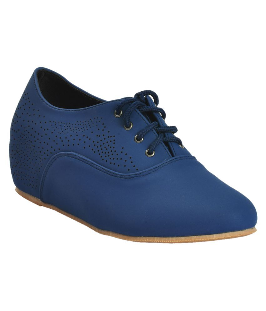 Shuberry Navy Casual Shoes
