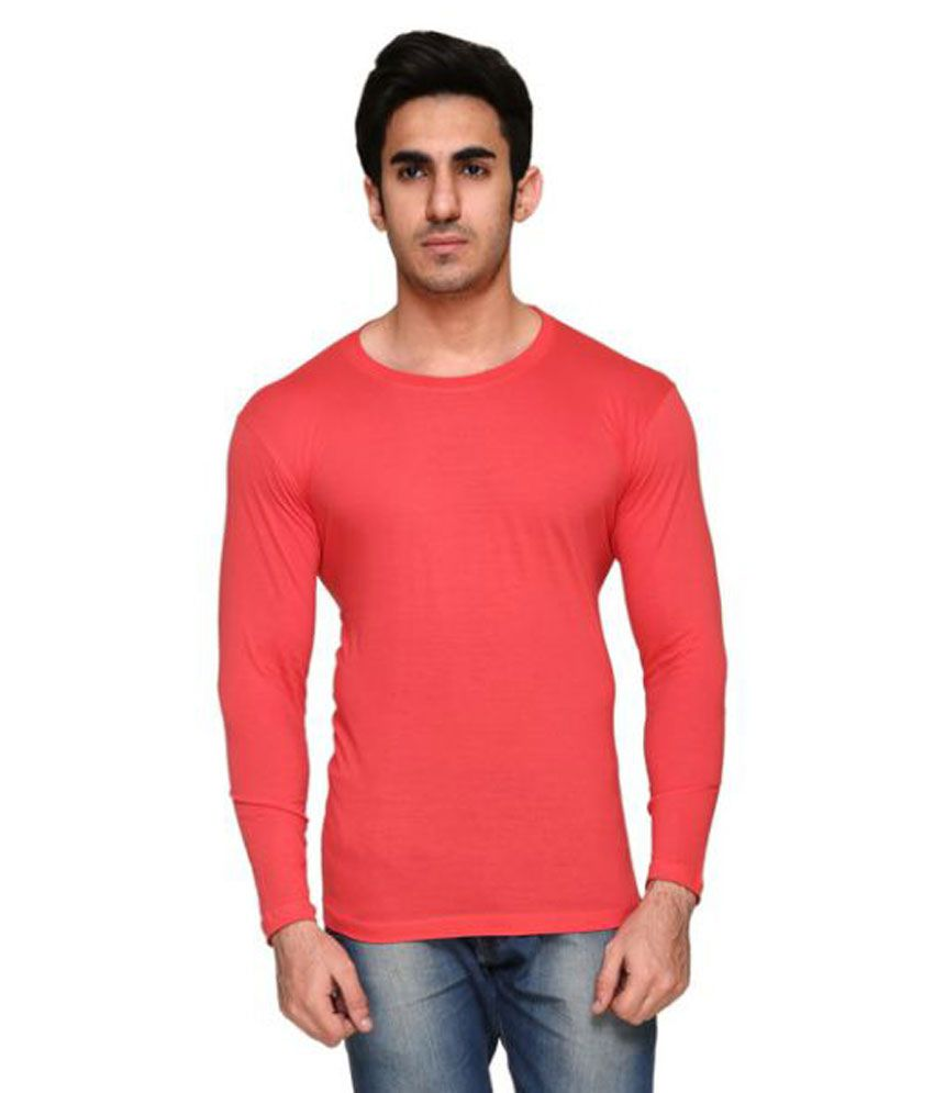Colors & Blends Pink Round T-Shirt