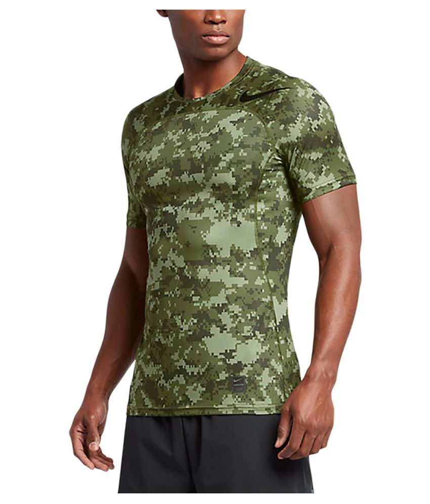 Nike Pro Hypercool T-Shirt - Palm Green & Black