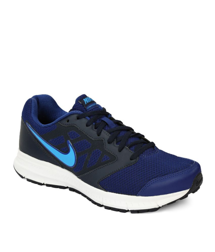 3dd851854b378 Nike NIKE DOWNSHIFTER 6 MSL Blue Running Shoes - Buy Nike NIKE DOWNSHIFTER 6  MSL Blue Running Shoes Online at Best Prices in India on Snapdeal