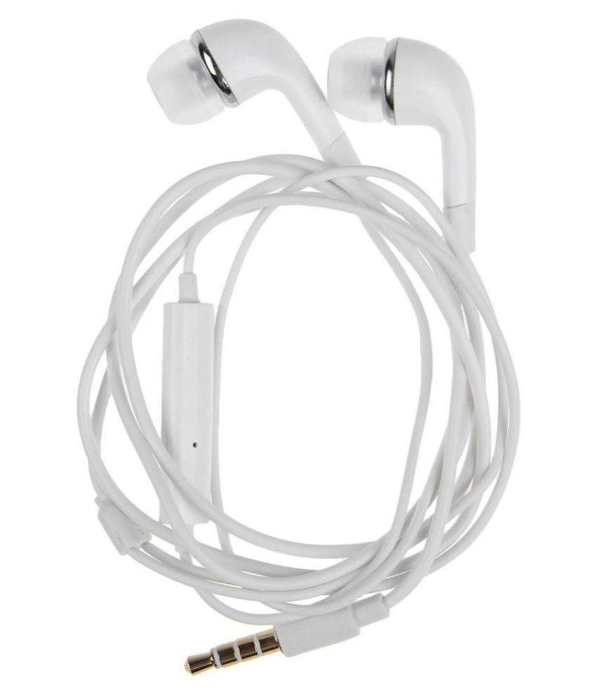 99 Deals Erp In Ear Wired Earphones With Mic White Snapdeal Rs. 170.00