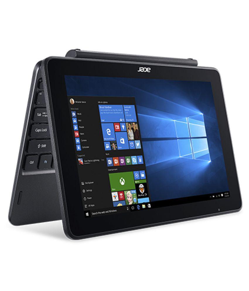 Acer One S1003 (NT.LCQSI.001) 2 in 1 Notebook (Intel Atom- 2GB RAM- 32GB eMMC- 25.65cm(10.1) Touchscreen- Windows 10) (Black)