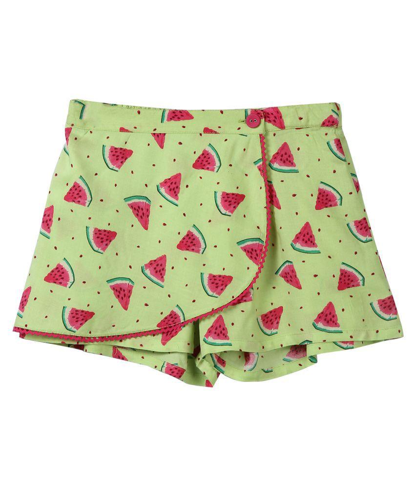 Beebay Watermelon Print Skorts