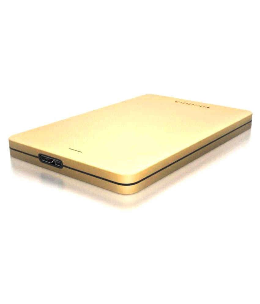 Toshiba Canvio Alumy 2 TB USB 3.0 Gold