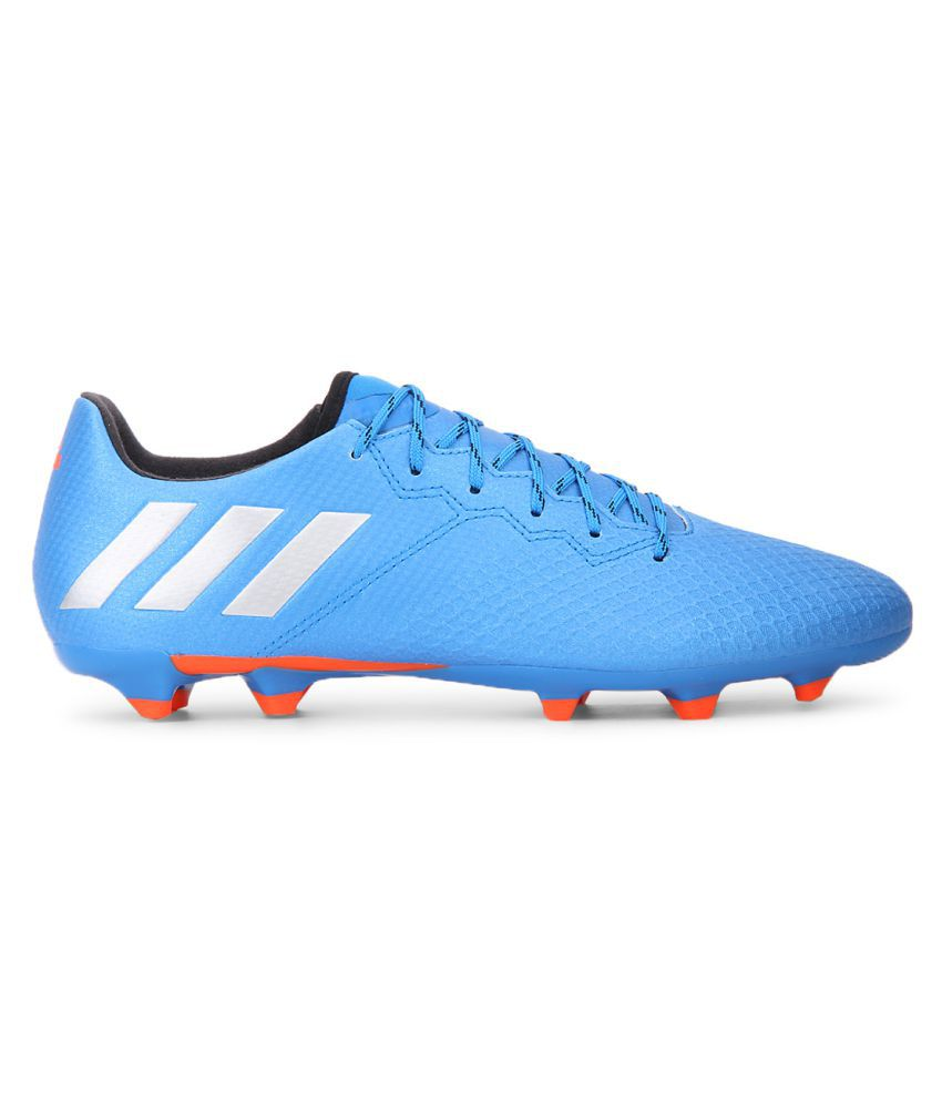 ... Adidas MESSI 16.3 FG Blue Football Shoes ...