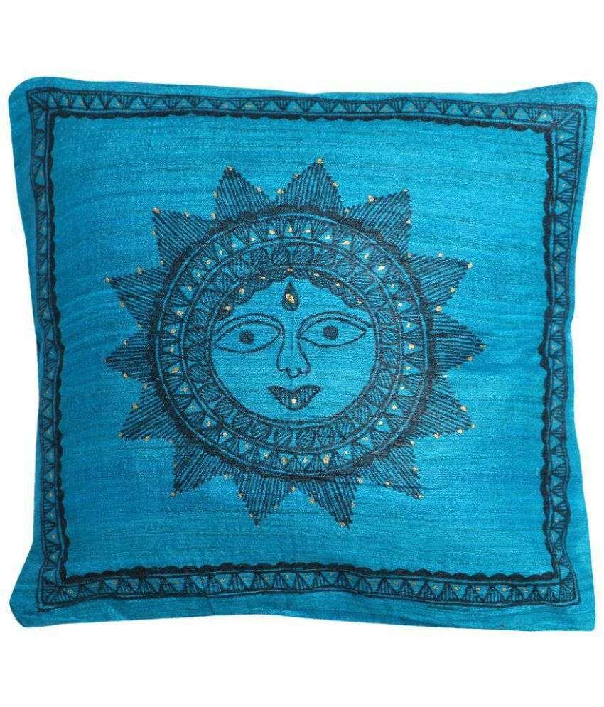 iMithila Single Silk Cushion Covers 30X30 cm (12X1