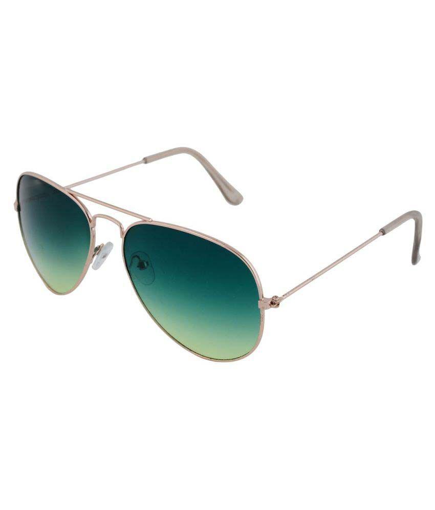 LandLord Green Aviator Sunglasses ( 20020 )