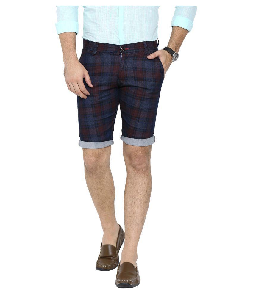 Showoff Multi Shorts