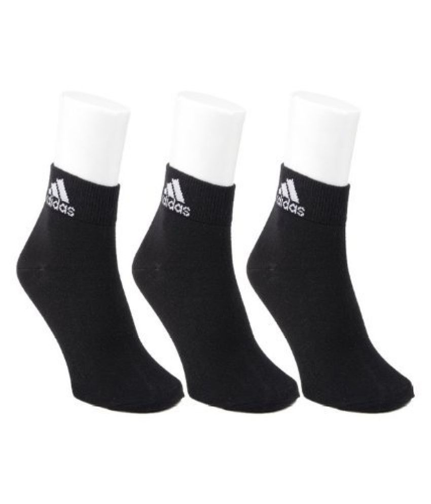 Adidas half cushion crew black socks - Pack of 3