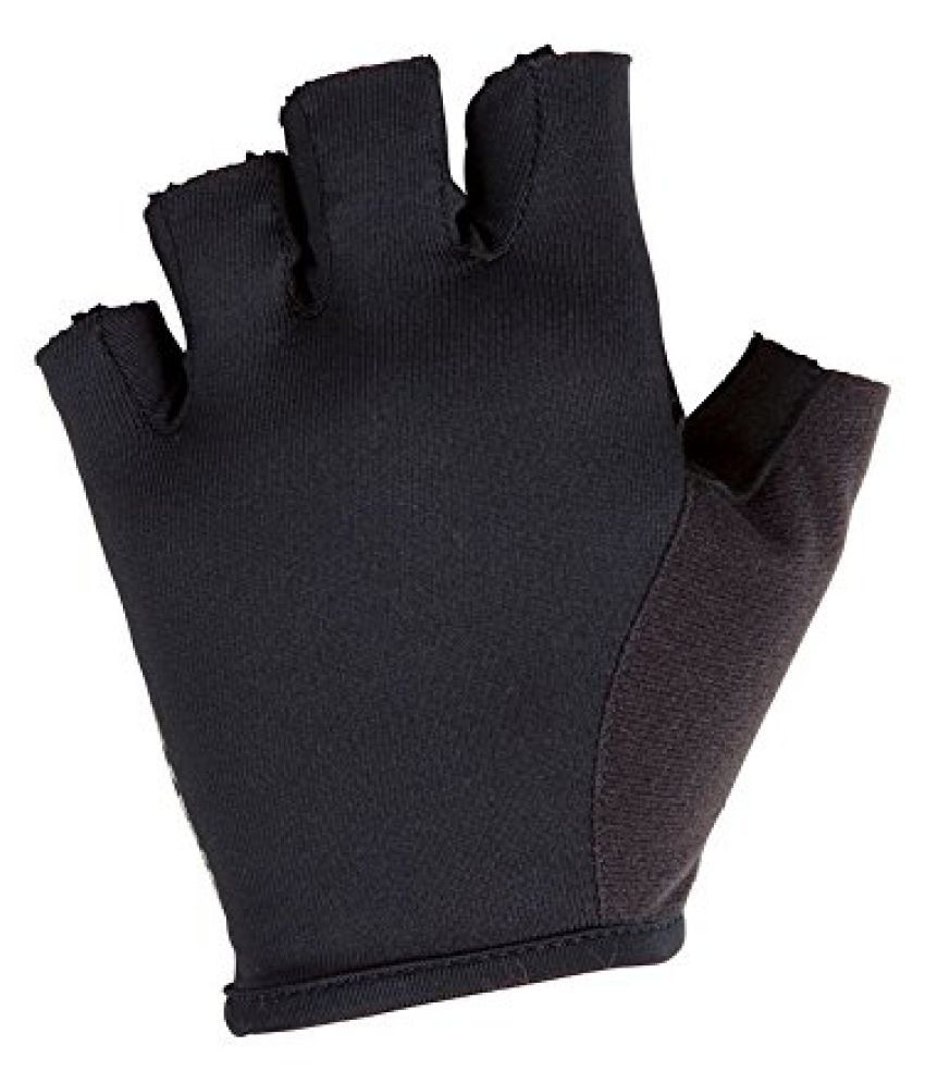 B TWIN BIKE GLOVES 300 BLACK